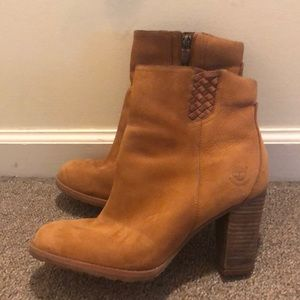 Women's Timberland Brown Bootie Size 10